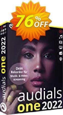 Audials One 2021 Coupon, discount 63% OFF Audials One 2021, verified. Promotion: Impressive discount code of Audials One 2021, tested & approved