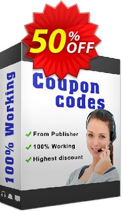 PDF Bookmarks Coupon, discount 50% Off. Promotion: 50% Off the Purchase Price