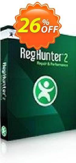 RegHunter Coupon, discount 25% off with RegHunter. Promotion: