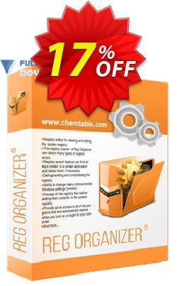 Reg Organizer - Company License Coupon discount 30% OFF Reg Organizer. Promotion: