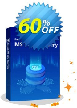 EaseUS MS SQL Recovery - Lifetime  Coupon discount 40% OFF EaseUS MS SQL Recovery (Lifetime), verified. Promotion: Wonderful promotions code of EaseUS MS SQL Recovery (Lifetime), tested & approved