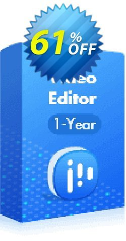 EaseUS Video Editor - 1-Year  Coupon discount 60% OFF EaseUS Video Editor (1-Year License), verified. Promotion: Wonderful promotions code of EaseUS Video Editor (1-Year License), tested & approved