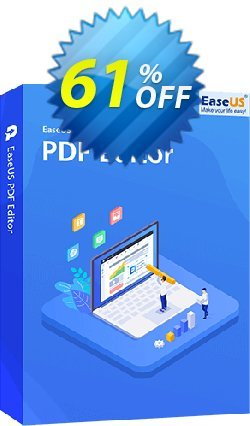EaseUS PDF Editor Coupon discount 50% OFF EaseUS PDF Editor, verified - Wonderful promotions code of EaseUS PDF Editor, tested & approved