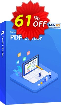 EaseUS PDF Editor 1-Year Coupon discount 50% OFF EaseUS PDF Editor 1-Year, verified - Wonderful promotions code of EaseUS PDF Editor 1-Year, tested & approved