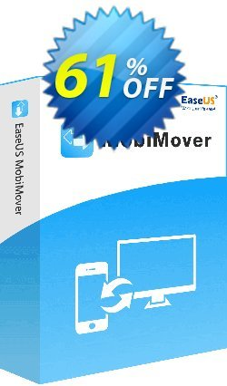 EaseUS MobiMover Pro - 1 Year  Coupon, discount 80% OFF EaseUS MobiMover Pro (1 Year), verified. Promotion: Wonderful promotions code of EaseUS MobiMover Pro (1 Year), tested & approved