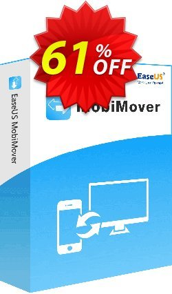EaseUS MobiMover Pro for Mac - 1 Year  Coupon, discount 67% OFF EaseUS MobiMover for Mac Pro (Yearly License) Feb 2021. Promotion: Wonderful promotions code of EaseUS MobiMover for Mac Pro (Yearly License), tested in February 2021