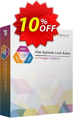 Paragon File System Link Business Suite Coupon discount 10% OFF Paragon File System Link Business Suite, verified. Promotion: Impressive promotions code of Paragon File System Link Business Suite, tested & approved