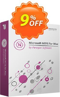 Paragon NTFS for Mac Coupon discount 5% OFF Paragon NTFS for Mac, verified. Promotion: Impressive promotions code of Paragon NTFS for Mac, tested & approved