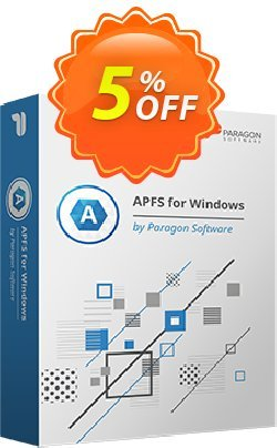 Paragon APFS for Windows Coupon discount 5% OFF PARAGON APFS for Windows, verified. Promotion: Impressive promotions code of PARAGON APFS for Windows, tested & approved