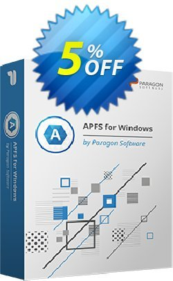 Paragon APFS for Windows Coupon discount 5% OFF PARAGON APFS for Windows, verified - Impressive promotions code of PARAGON APFS for Windows, tested & approved