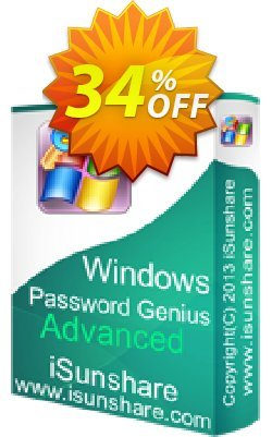 iSunshare Windows Password Genius Advanced Coupon discount iSunshare discount (47025) - iSunshare discount coupons