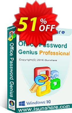 iSunshare Office Password Genius Professional Coupon, discount iSunshare discount (47025). Promotion: iSunshare discount coupons