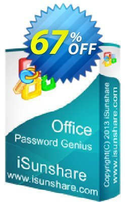 iSunshare Office Password Genius Coupon, discount iSunshare discount (47025). Promotion: iSunshare discount coupons