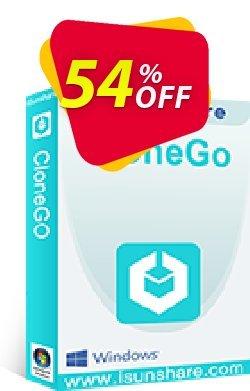 iSunshare CloneGo Coupon, discount iSunshare CloneGo discount (47025). Promotion: iSunshare CloneGo coupons