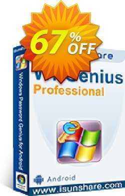 iSunshare WPGenius Professional Coupon, discount iSunshare WPGenius discount (47025). Promotion: iSunshare WPGenius Pro