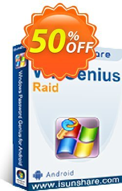 iSunshare WPGenius Raid Coupon, discount iSunshare WPGenius Raid discount (47025). Promotion: iSunshare WPGenius Raid