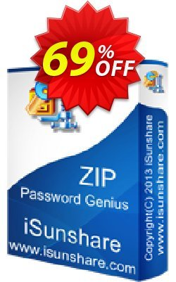 iSunshare ZIP Password Genius Coupon discount iSunshare discount (47025) - iSunshare discount coupons