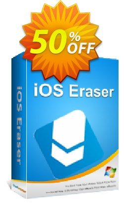 Coolmuster iOS Eraser - Lifetime (26-30PCs) Coupon, discount affiliate discount. Promotion: