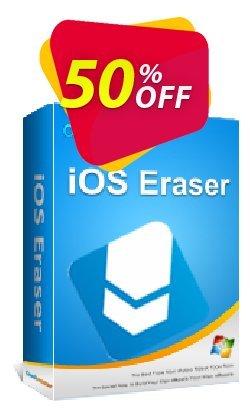 Coolmuster iOS Eraser - Lifetime - 26-30PCs  Coupon, discount affiliate discount. Promotion: