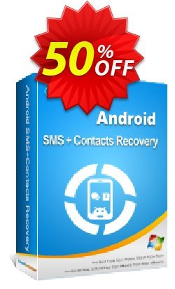 Coolmuster Android SMS+Contacts Recovery - 1 Year License - Unlimited Devices, 1 PC  Coupon discount affiliate discount -