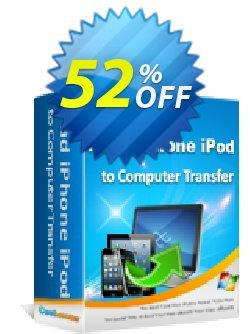 Coolmuster iPad iPhone iPod to Computer Transfer Coupon, discount affiliate discount. Promotion: