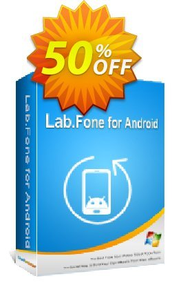 Coolmuster Lab.Fone for Android - 1 Year - 50 Devices, 10 PC  Coupon discount 50% OFF Coolmuster Lab.Fone for Android - 1 Year (50 Devices, 10 PC), verified - Special discounts code of Coolmuster Lab.Fone for Android - 1 Year (50 Devices, 10 PC), tested & approved