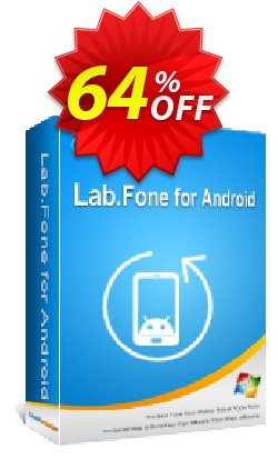 Coolmuster Lab.Fone for Android Lifetime - 5 Devices, 1 PC  Coupon discount 64% OFF Coolmuster Lab.Fone for Android Lifetime (5 Devices, 1 PC), verified - Special discounts code of Coolmuster Lab.Fone for Android Lifetime (5 Devices, 1 PC), tested & approved