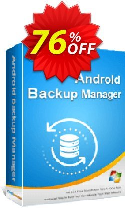 Coolmuster Android Backup Manager - 1 Year License - 5 PCs  Coupon, discount 50% OFF Coolmuster Android Backup Manager - 1 Year License (5 PCs), verified. Promotion: Special discounts code of Coolmuster Android Backup Manager - 1 Year License (5 PCs), tested & approved