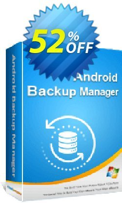 Coolmuster Android Backup Manager - 1 Year License - 10 PCs  Coupon, discount 50% OFF Coolmuster Android Backup Manager - 1 Year License (10 PCs), verified. Promotion: Special discounts code of Coolmuster Android Backup Manager - 1 Year License (10 PCs), tested & approved