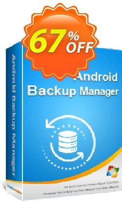 Coolmuster Android Backup Manager - Lifetime License Coupon, discount 67% OFF Coolmuster Android Backup Manager - Lifetime License, verified. Promotion: Special discounts code of Coolmuster Android Backup Manager - Lifetime License, tested & approved