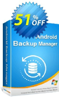 Coolmuster Android Backup Manager - Lifetime License - 10 PCs  Coupon, discount 50% OFF Coolmuster Android Backup Manager - Lifetime License (10 PCs), verified. Promotion: Special discounts code of Coolmuster Android Backup Manager - Lifetime License (10 PCs), tested & approved