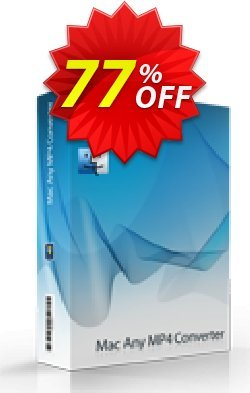 7thShare Mac Any MP4 Converter Coupon, discount 60% discount7thShare Mac Any MP4 Converter. Promotion: