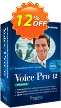 Voice Pro 12 Premium Coupon, discount Coupon code Voice Pro 12 Premium. Promotion: Voice Pro 12 Premium offer from Linguatec