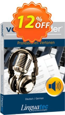 Voice Reader Studio 15 GED / Deutsch/German Coupon discount Coupon code Voice Reader Studio 15 GED / Deutsch/German - Voice Reader Studio 15 GED / Deutsch/German offer from Linguatec