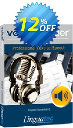 Voice Reader Studio 15 ENU / English - American  Coupon discount Coupon code Voice Reader Studio 15 ENU / English (American) - Voice Reader Studio 15 ENU / English (American) offer from Linguatec