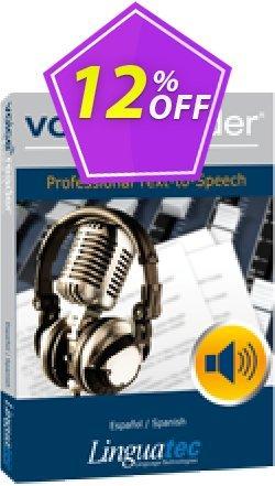 Voice Reader Studio 15 SPE / Español/Spanish Coupon discount Coupon code Voice Reader Studio 15 SPE / Español/Spanish - Voice Reader Studio 15 SPE / Español/Spanish offer from Linguatec