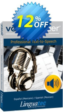 Voice Reader Studio 15 SPM / Español - Mexicano /Spanish - Mexican  Coupon discount Coupon code Voice Reader Studio 15 SPM / Español (Mexicano)/Spanish (Mexican) - Voice Reader Studio 15 SPM / Español (Mexicano)/Spanish (Mexican) offer from Linguatec