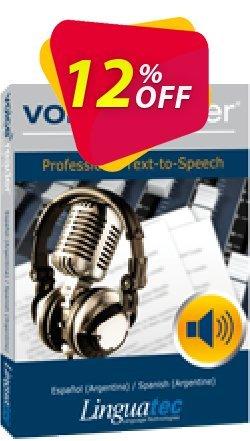 Voice Reader Studio 15 SPA / Español - Argentina /Spanish - Argentine  Coupon, discount Coupon code Voice Reader Studio 15 SPA / Español (Argentina)/Spanish (Argentine). Promotion: Voice Reader Studio 15 SPA / Español (Argentina)/Spanish (Argentine) offer from Linguatec
