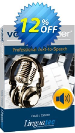 Voice Reader Studio 15 CAE / Català/Catalan Coupon discount Coupon code Voice Reader Studio 15 CAE / Català/Catalan - Voice Reader Studio 15 CAE / Català/Catalan offer from Linguatec