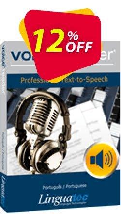 Voice Reader Studio 15 PTP / Português/Portuguese Coupon discount Coupon code Voice Reader Studio 15 PTP / Português/Portuguese - Voice Reader Studio 15 PTP / Português/Portuguese offer from Linguatec