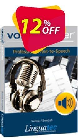 Voice Reader Studio 15 SWS / Svensk/Swedish Coupon, discount Coupon code Voice Reader Studio 15 SWS / Svensk/Swedish. Promotion: Voice Reader Studio 15 SWS / Svensk/Swedish offer from Linguatec