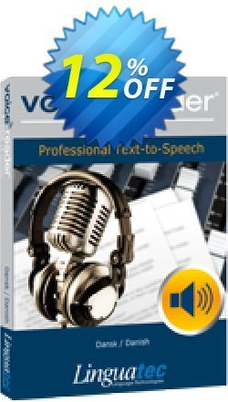 Voice Reader Studio 15 DAD / Dansk/Danish Coupon discount Coupon code Voice Reader Studio 15 DAD / Dansk/Danish - Voice Reader Studio 15 DAD / Dansk/Danish offer from Linguatec