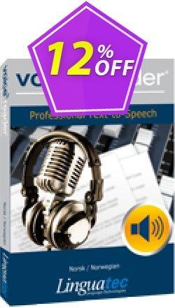 Voice Reader Studio 15 NON / Norsk/Norwegian Coupon, discount Coupon code Voice Reader Studio 15 NON / Norsk/Norwegian. Promotion: Voice Reader Studio 15 NON / Norsk/Norwegian offer from Linguatec