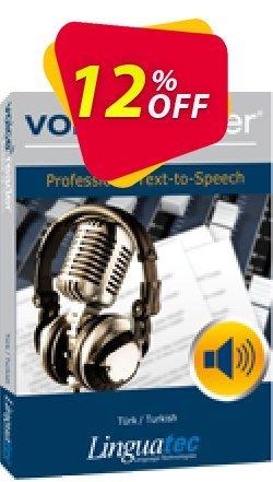Voice Reader Studio 15 TRT / Türk/Turkish Coupon discount Coupon code Voice Reader Studio 15 TRT / Türk/Turkish - Voice Reader Studio 15 TRT / Türk/Turkish offer from Linguatec
