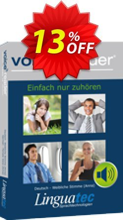 Voice Reader Home 15 Français -  - Audrey / French - Female  - Audrey  Coupon, discount Coupon code Voice Reader Home 15 Français - [Audrey] / French - Female [Audrey]. Promotion: Voice Reader Home 15 Français - [Audrey] / French - Female [Audrey] offer from Linguatec