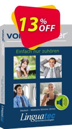 Voice Reader Home 15 Türk -  - Yelda / Turkish - Female  - Yelda  Coupon, discount Coupon code Voice Reader Home 15 Türk - [Yelda] / Turkish - Female [Yelda]. Promotion: Voice Reader Home 15 Türk - [Yelda] / Turkish - Female [Yelda] offer from Linguatec