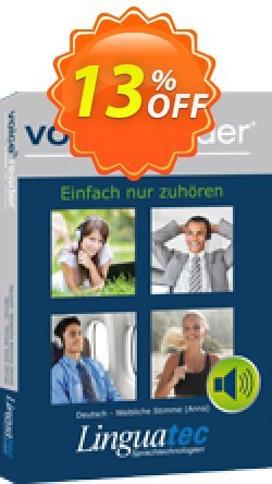 Voice Reader Home 15 English - Irish - Female voice  - Moira  Coupon, discount Coupon code Voice Reader Home 15 English (Irish) - Female voice [Moira]. Promotion: Voice Reader Home 15 English (Irish) - Female voice [Moira] offer from Linguatec