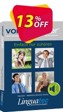Voice Reader Home 15 Nederlands - België -  - Ellen / Dutch - Belgium - Female  - Ellen  Coupon, discount Coupon code Voice Reader Home 15 Nederlands (België) - [Ellen] / Dutch (Belgium) - Female [Ellen]. Promotion: Voice Reader Home 15 Nederlands (België) - [Ellen] / Dutch (Belgium) - Female [Ellen] offer from Linguatec