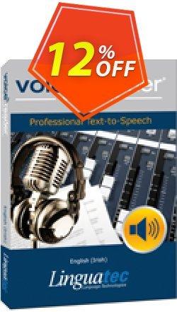 Voice Reader Studio 15 ENE / English - Irish  Coupon discount Coupon code Voice Reader Studio 15 ENE / English (Irish) - Voice Reader Studio 15 ENE / English (Irish) offer from Linguatec