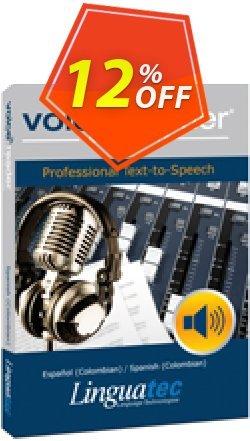 Voice Reader Studio 15 SPC / Español - Colombian /Spanish - Colombian  Coupon, discount Coupon code Voice Reader Studio 15 SPC / Español (Colombian)/Spanish (Colombian). Promotion: Voice Reader Studio 15 SPC / Español (Colombian)/Spanish (Colombian) offer from Linguatec